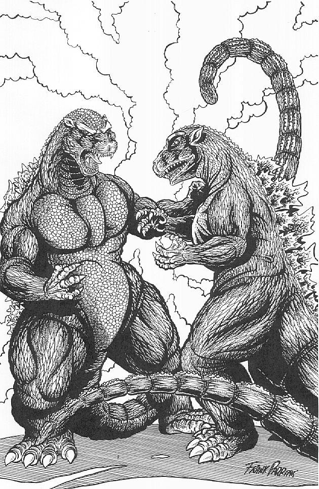 http://download.lavadomefive.com/LD5%20Artists/Frank%20Parr/Godzilla%20vs%20Godzilla.jpg